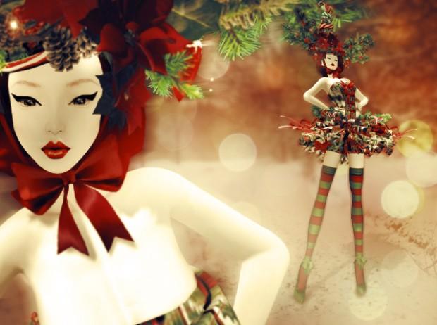 Boudoir Christmas I