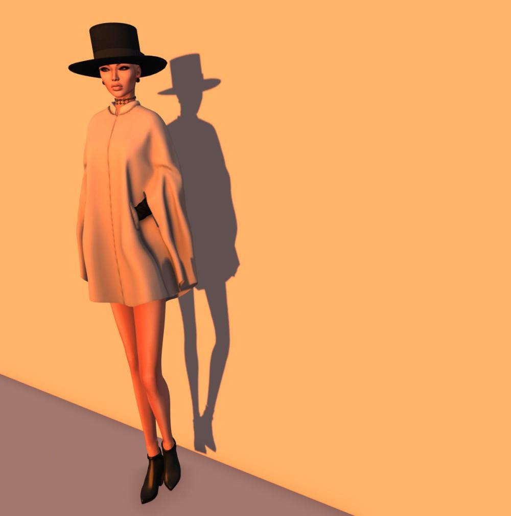 Elysium - Amish hat - charcoal I jpg