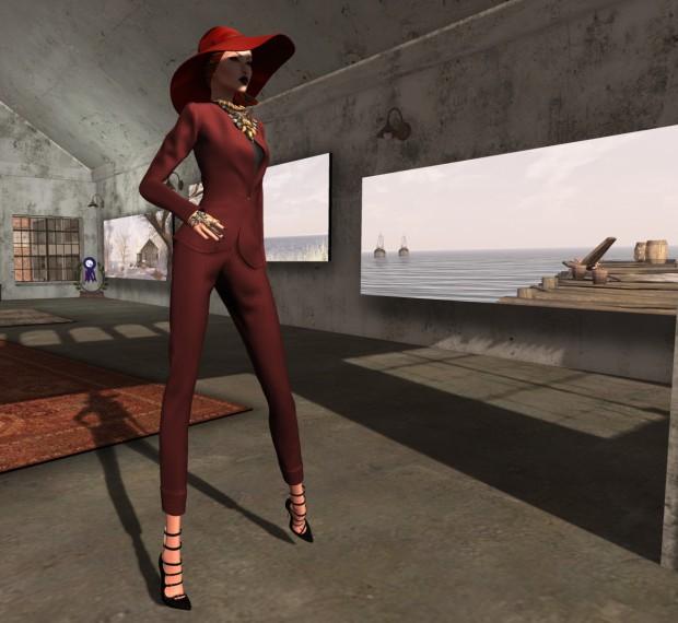 [LeLutka]-Aviva Suit-Bean jpg
