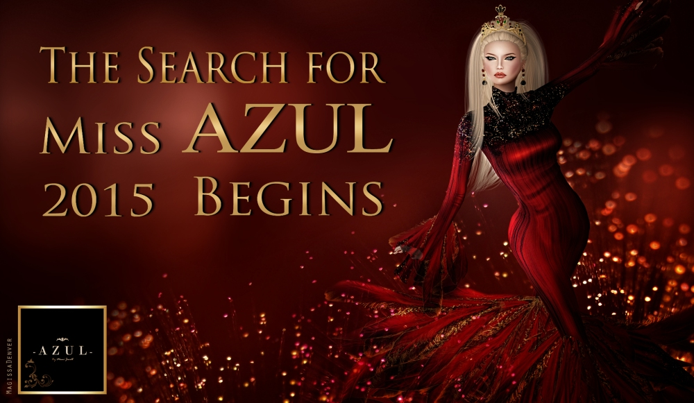 The Search for Miss AZUL 2015 Begins Poster I