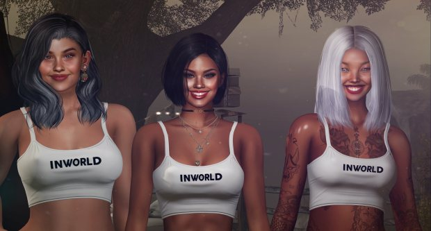 Inworld girls smile